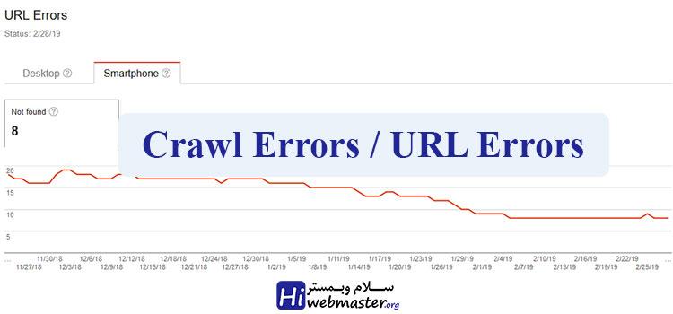 خطاهای site error در گوگل وبمستر